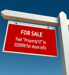 property sign